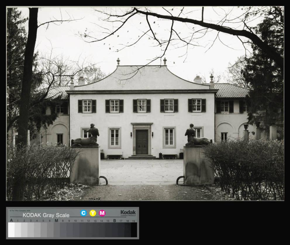 David Adler Hamill Residence