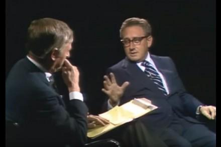 William F. Buckley Henry Kissinger