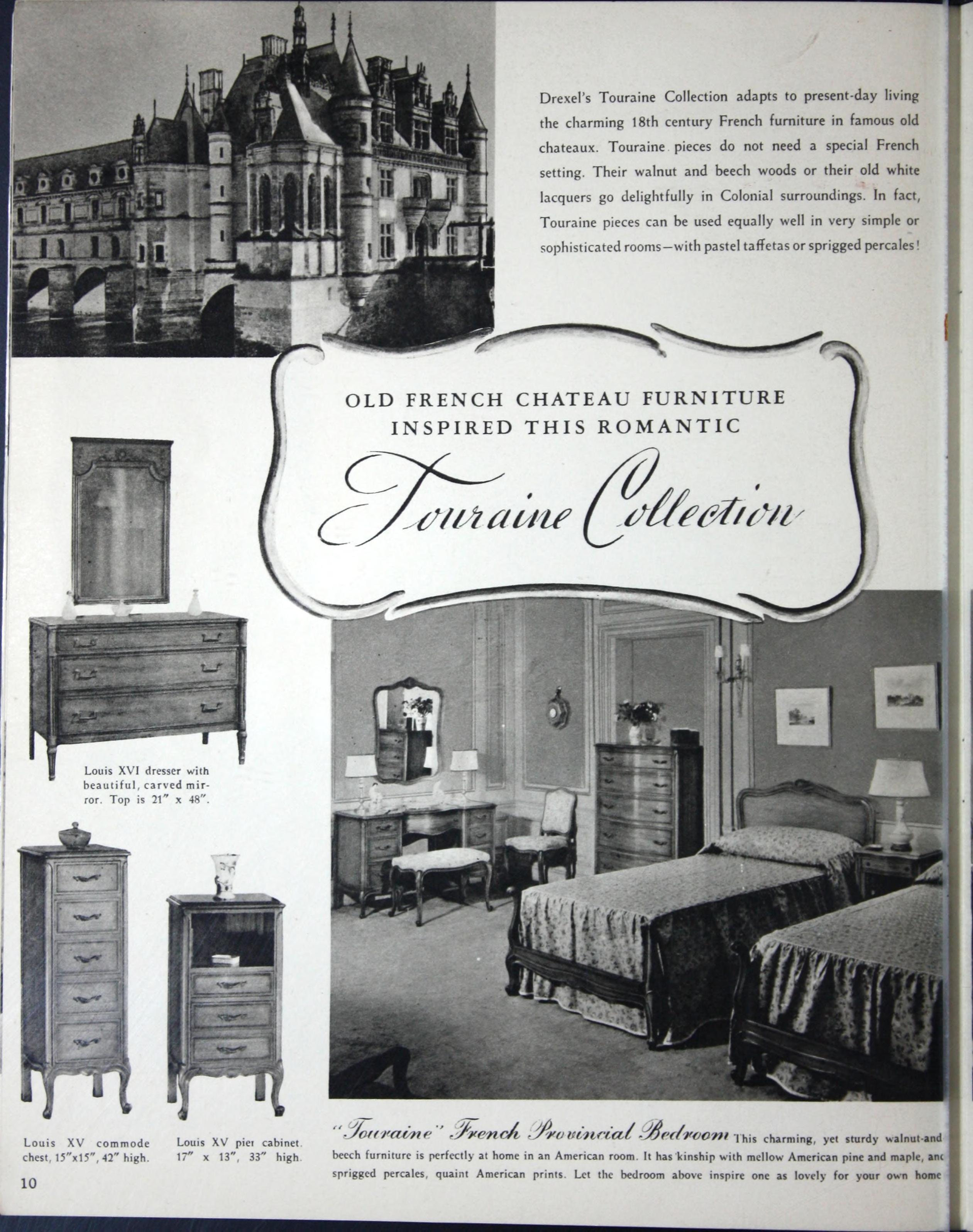 Drexel Furniture Bedroom Set 6
