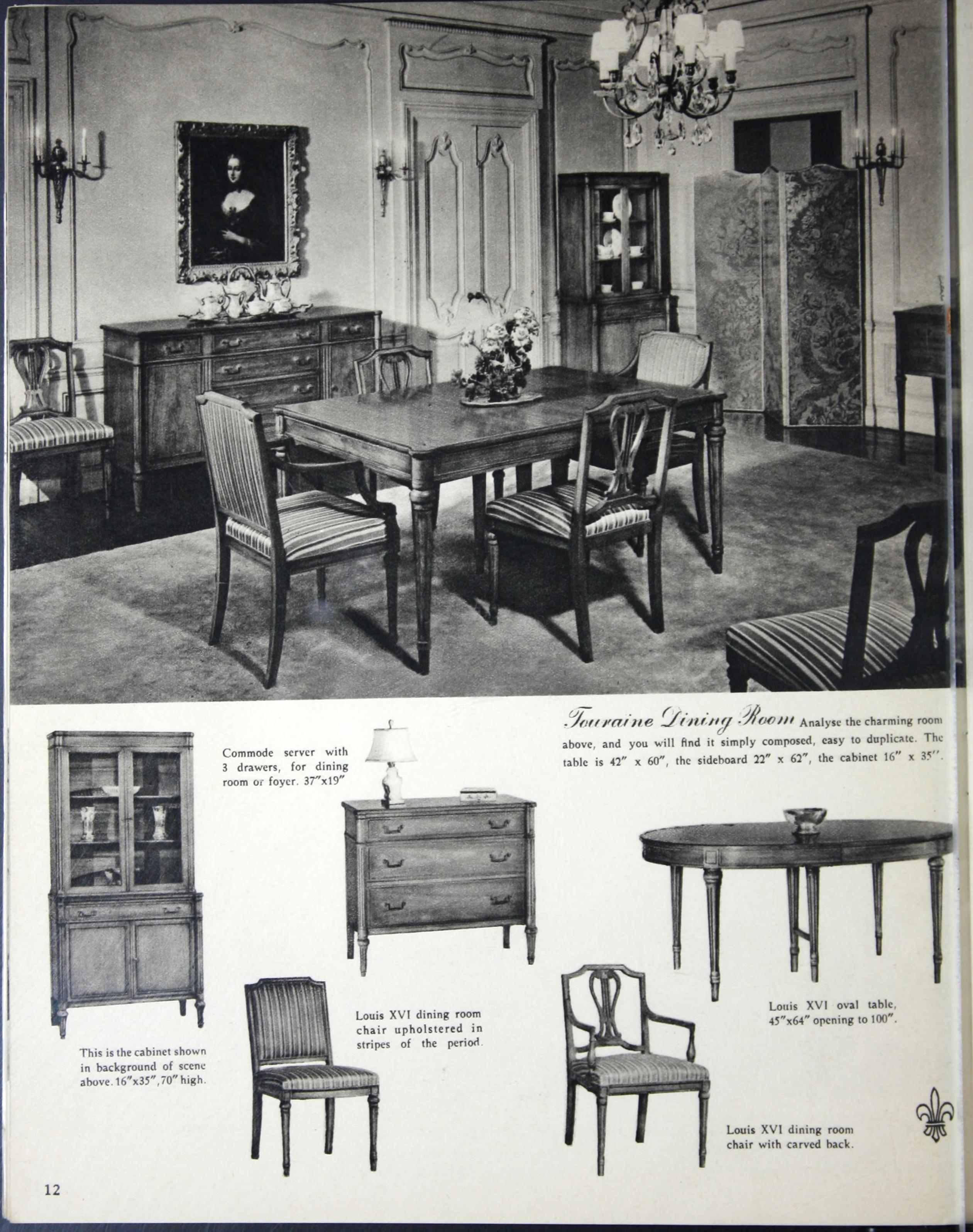 Drexel Furniture Dining Room 6