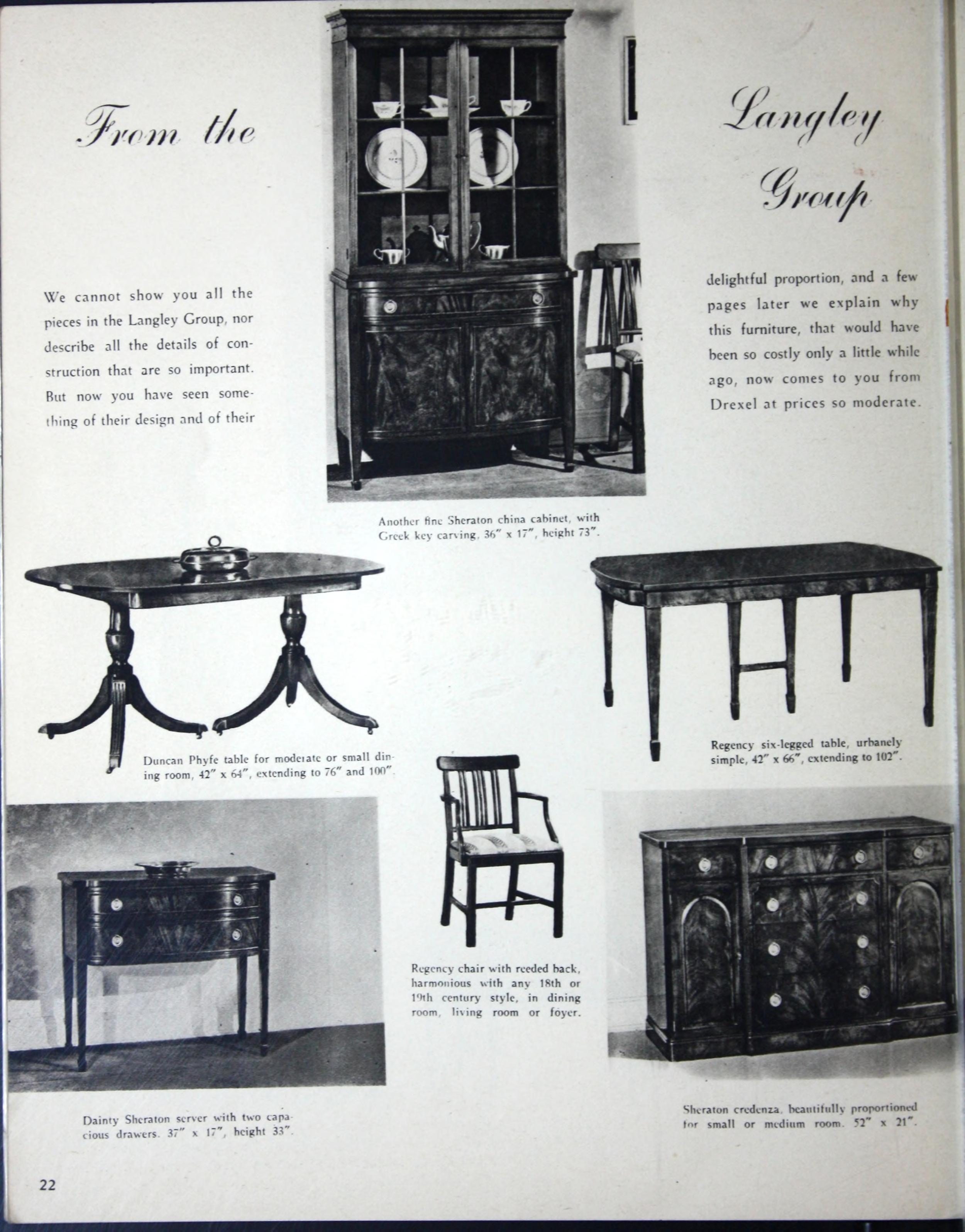 Drexel Furniture Dining Room 12