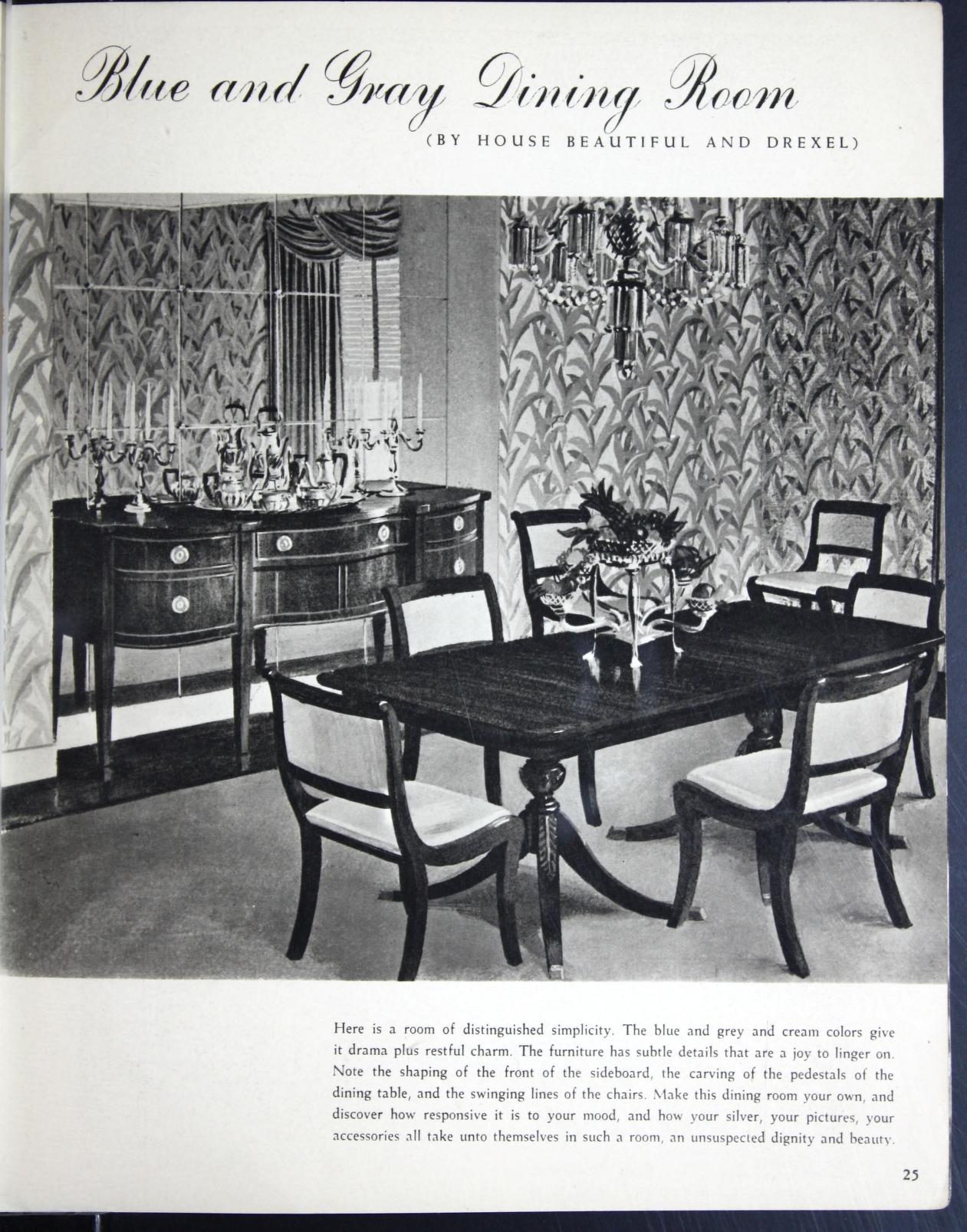 Drexel Furniture Dining Room