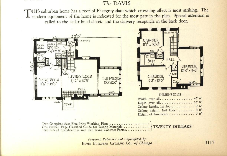The Davis Home Builders Catalog of Chicago