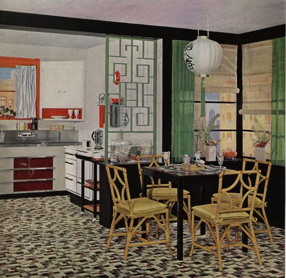 Armstrong Linoleum: Five Dream Kitchens