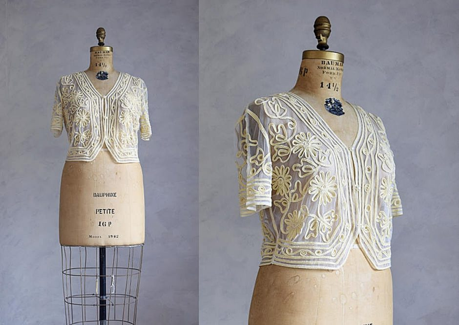 Vintage Lace Bolero