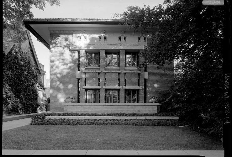 F. C. Bogk House Frank LLyod Wright House Milwaukee