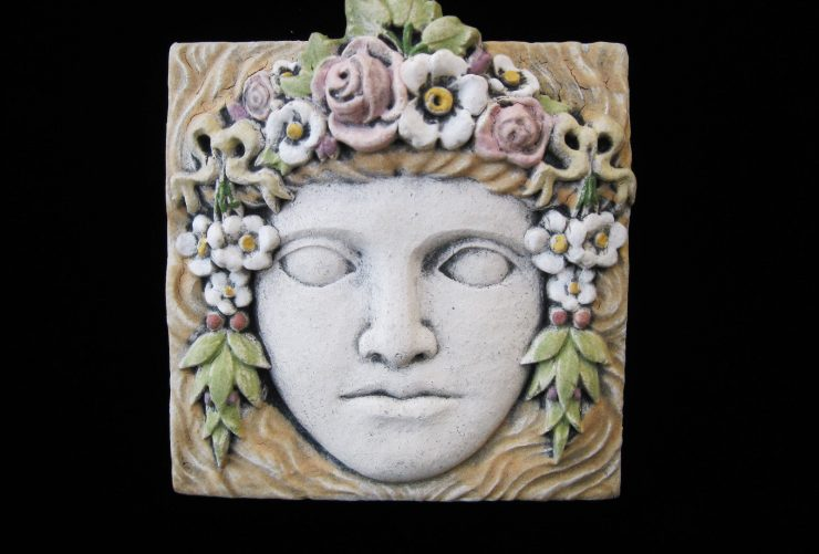 Antique Arts and Crafts Tile