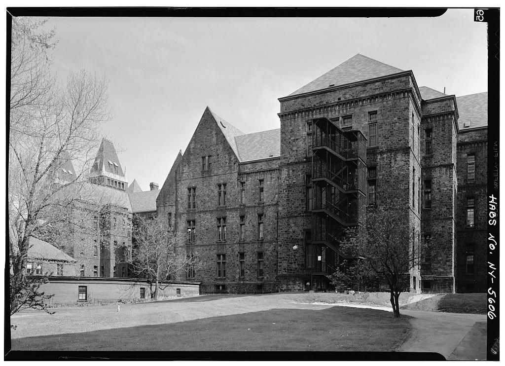 Buffalo State Asylum Hospital Richardson Romanesque