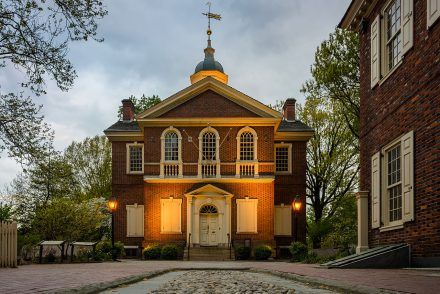 Carpenter's Hall Philadelphia Federal Style Architecture