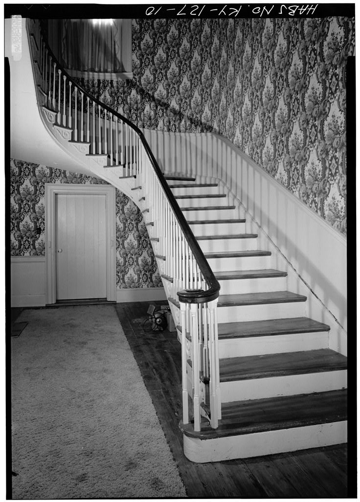 Marshall Key House Historic Federal Style Sweeping Staircase