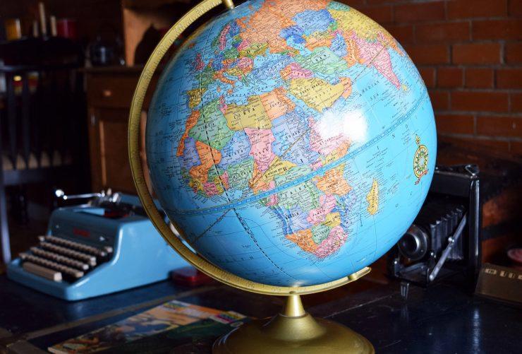 Vintage Classroom Globe 2