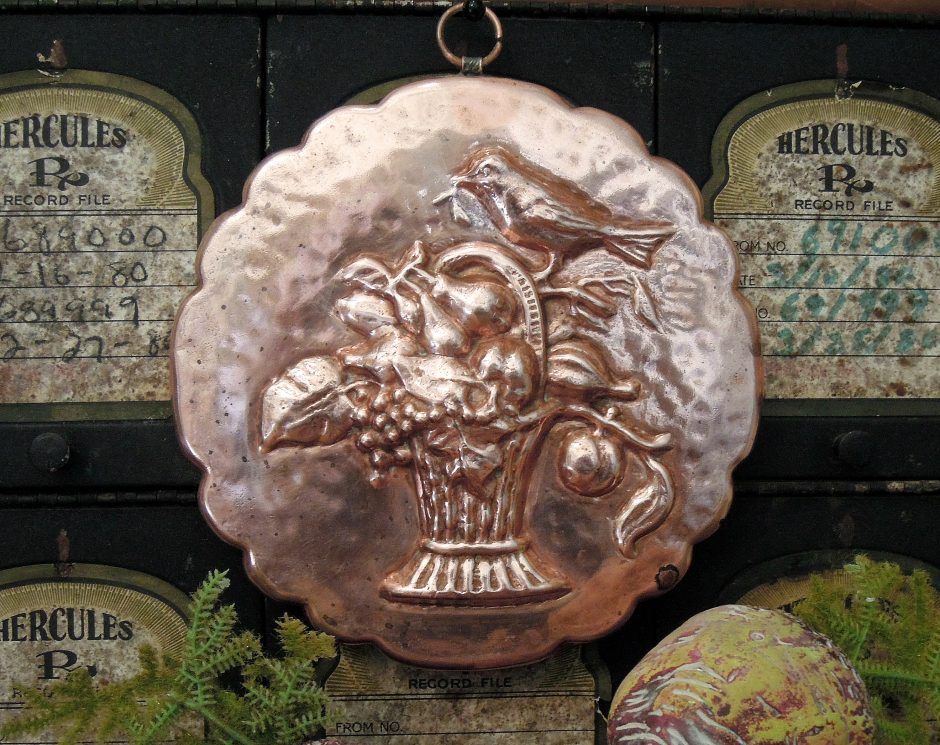 Antique Copper Mold