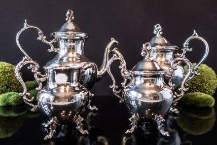 Antique Silver Tea Service