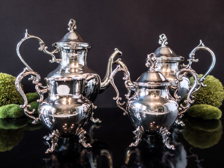 Antique Silver Tea Service
