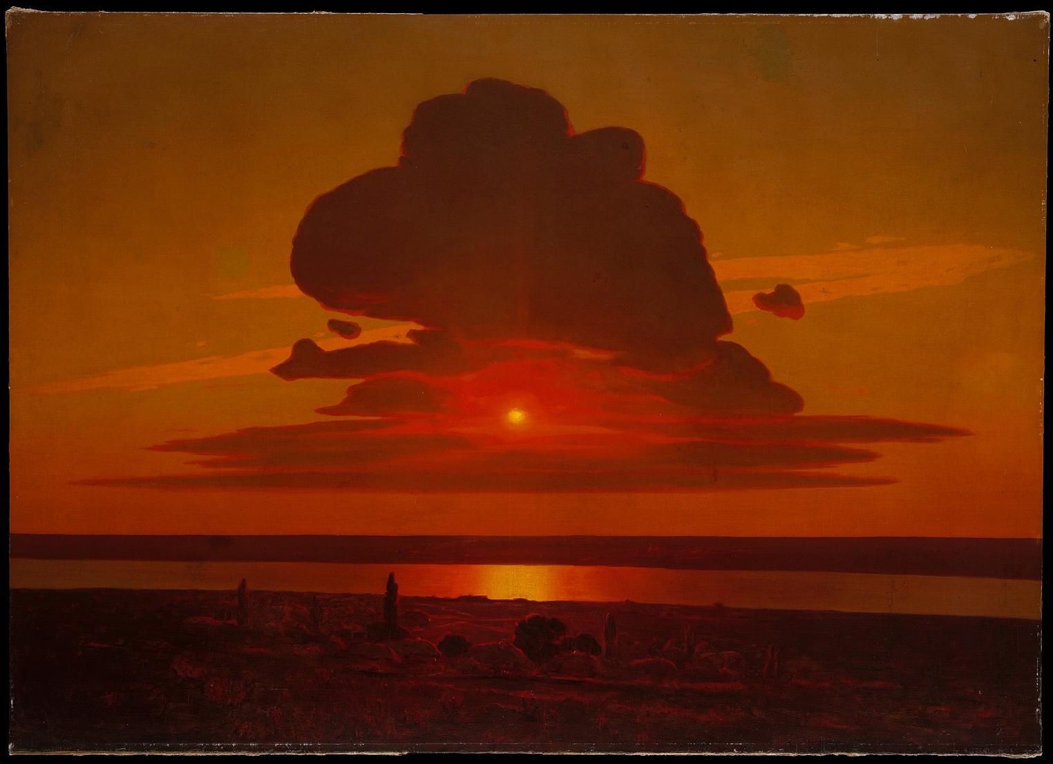 Arkhip Ivanovich Kuindzhi Red Sunset on the Dnieper