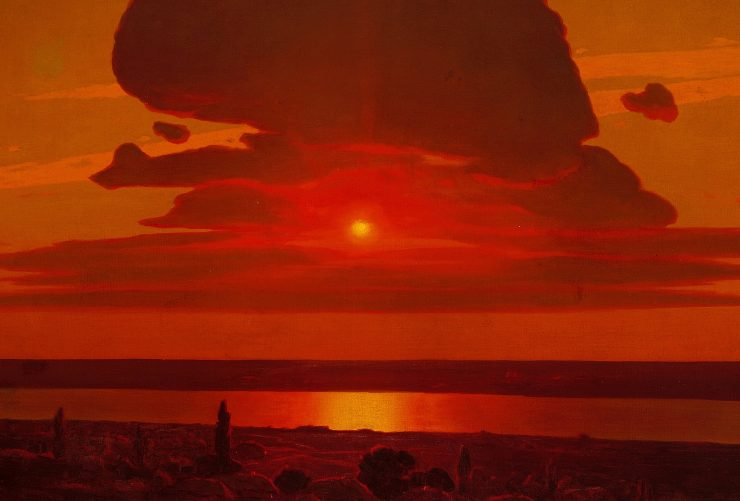 Arkhip Ivanovich Kuindzhi Red Sunset on the Dnieper