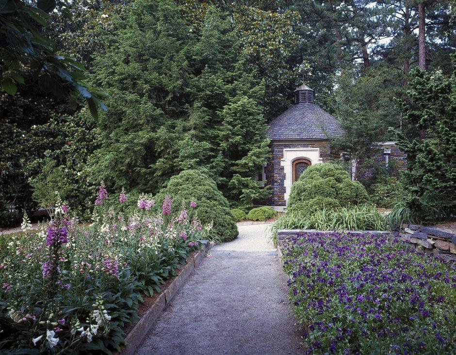 Scene from the Sarah P. Duke Gardens