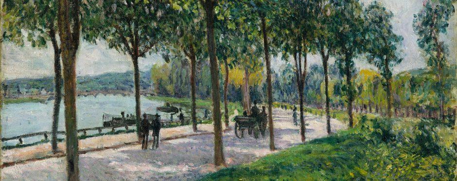 Alfred Sisley's Allée of Chestnut Trees