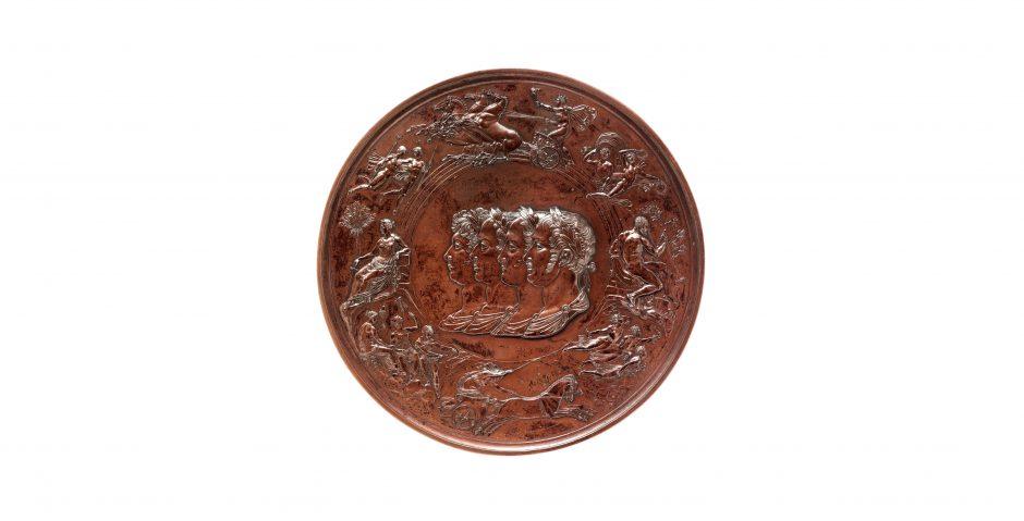 Benedetto Pistrucci Waterloo Medal