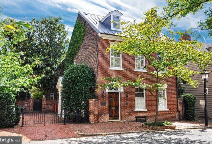 Historic Home Architecture Alexandria Virginia (1)