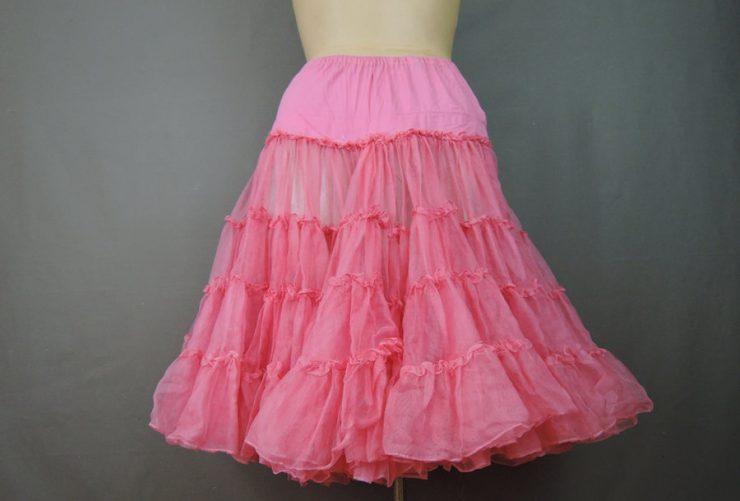 Vintage Tulle Petticoat